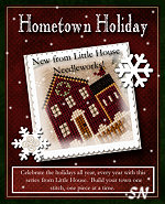 Hometown Holiday from Little House Needleworks - click to see more
