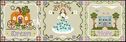 Once Upon a Time from Little House Needleworks and Crescent Colours - click to see more