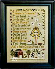 12 Days of Christmas from Little House Needleworks - click to see more