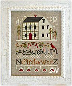 Winter Plaid from Little House Needleworks - click to see more