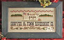 Mississippi Riverboat from Little House Needleworks - click for more