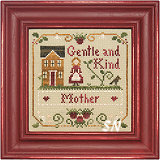 Little Women Virtues Gentle and Kind from Little House Needleworks and Crescent Colours - click to see more