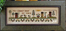My Sheep from Little House Needleworks - click to see more