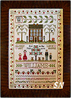 Family Sampler from Little House Needleworks - click for more