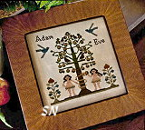 Adam and Eve from Little House Needleworks - click to see more