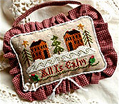 All is Calm from Little House Needleworks - click to see more