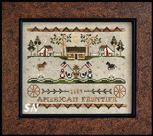 Tumbleweeds #3 American Frontier from Little House Needleworks - click to see more