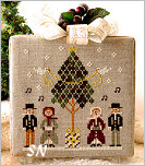 #3 - Caroling Quartet of Hometown Holiday from Little House Needleworks - click to see more