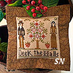 2011 #3 Deck the Halls from Little House Needleworks - click to see more