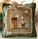 Little Sheep Virtues #5 Faith from Little House Needleworks - click to see more