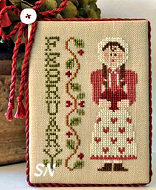 February Calendar Girl from Little House Needleworks - click to see more