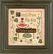 Fresh Watermelon from Little House Needleworks - click for more