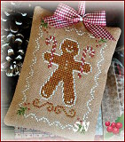 2012 Ornament #10 Gingerbread Cookie from Little House Needleworks - click to see more