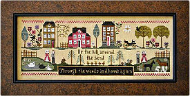Hillside Travelers from Little House Needleworks - click to see more