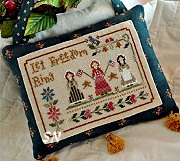 Liberty Belles from Little House Needleworks - click for more