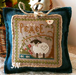 Little Sheep Virtues #3 Peace from Little House Needleworks - click to see more