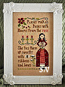 Rosey from Little House Needleworks - click to see more