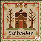 Sampler Months: September from Little House and Crescent Colours - click to see more