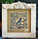 Singing The Blues from Little House Needleworks - click for more