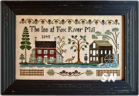 The Inn at Fox River Mill from Little House Needleworks - click to see more
