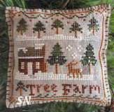 2012 Ornament #2 Tree Farm from Little House Needleworks - click to see more