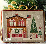 Hometown Holiday #7 Firehouse from Little House Needleworks - click to see more