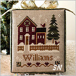 My House #1 of Hometown Holiday from Little House Needleworks - click to see more