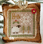 Introducing Little Sheep Virtues #1 Hope from Little House Needleworks - click to see more