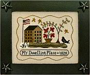 #100 My Dwelling Place from Little House Needleworks - click to see more