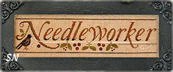 Needleworker from Little House Needleworks - click to see more