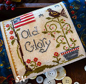 Old Glory from Little House Needleworks -- click to see more