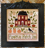 Pumpkin Patch Inn from Little House Needleworks - click to see more
