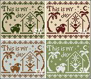 This is My Joy! from Little House Needleworks - click to see more