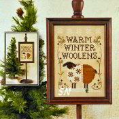 Warm Winter Woolens from Little House Needleworks - click to see more