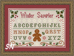 Winter Sampler by Little House Needleworks -- click to see more