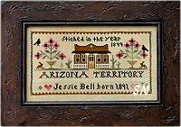 Jessie Bell - Arizona Territory from Little House Needleworks - click to see more