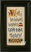 B31 Well Behaved Women Rarely Make History from Lizzie*Kate - click for more