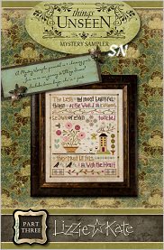 Lizzie Kate's Mystery Sampler Things Unseen Part 3 - click for more