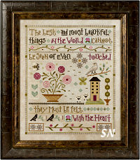 Lizzie Kate's Mystery Sampler Things Unseen Complete! - click for more