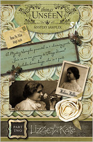 Lizzie Kate's Mystery Sampler Things Unseen Part 2 - click for more