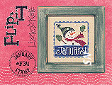 Lizzie Kate Flip-It F34 January Stamp -- click to see a larger view