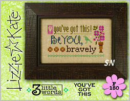 Lizzie Kate's 3 Little Words F150 You've Got This Card