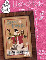 F112 Snow Friends Flip-It from Lizzie*Kate - click for more