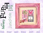 Lizzie Kate February Block F21 Flip-It -- click to see a larger view