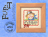 Lizzie Kate F43 October Stamp Flip-it