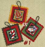 PN007 Holiday Hang-Ups No 1 in Punch Needle from Lizzie Kate -- click to see more!