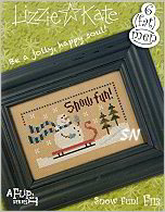 F113 Snow Fun Flip-It from Lizzie*Kate - click for more