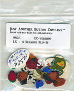 JABCO Buttons for Lizzie Kate's 4-Seasons Flip-it set - click for more