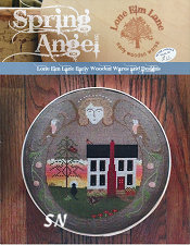Spring Angel from Lone Elm Lane Designs -- click to see more