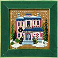 Mill Hill 2006 Buttons & Beads Christmas Village MH14-6305 Victorian House Kit -- click for more